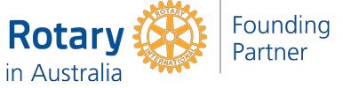 Rotary in Australia logo