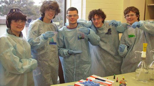 Slime Patrol at University of Canberra - Canberra Next Step Program 2012